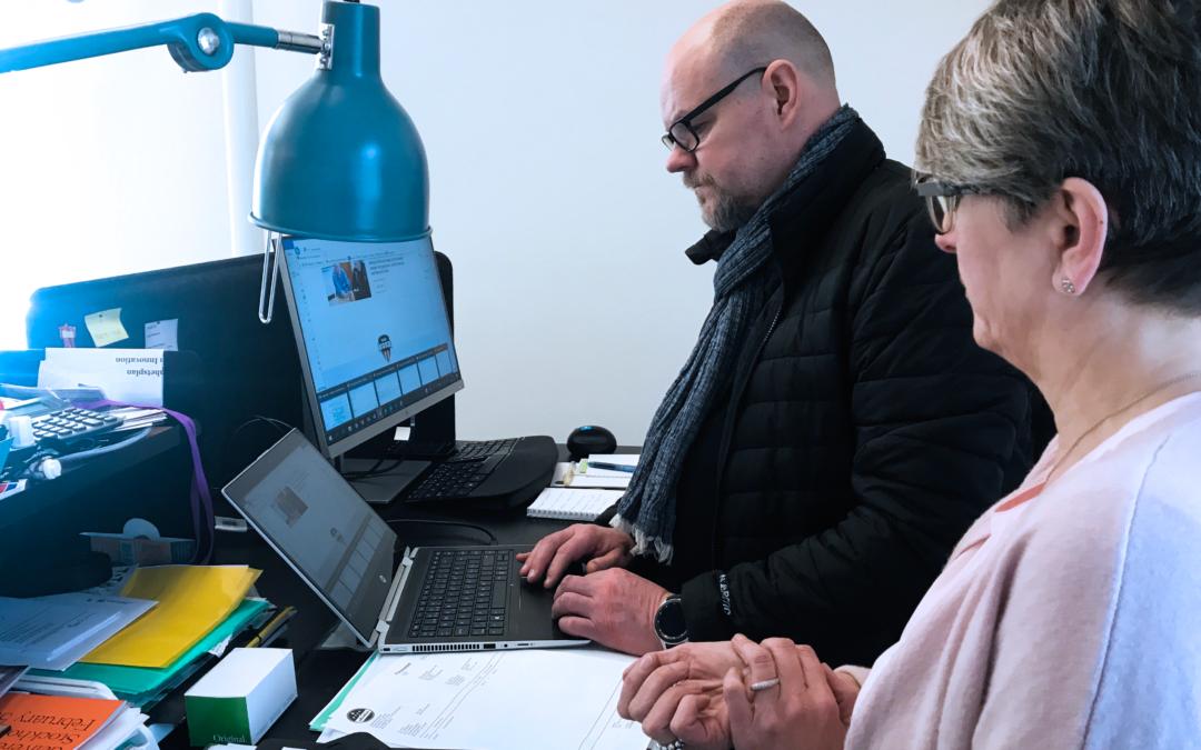 En bra dag på jobbet – Patrik Lindahl och eXpression Umeå