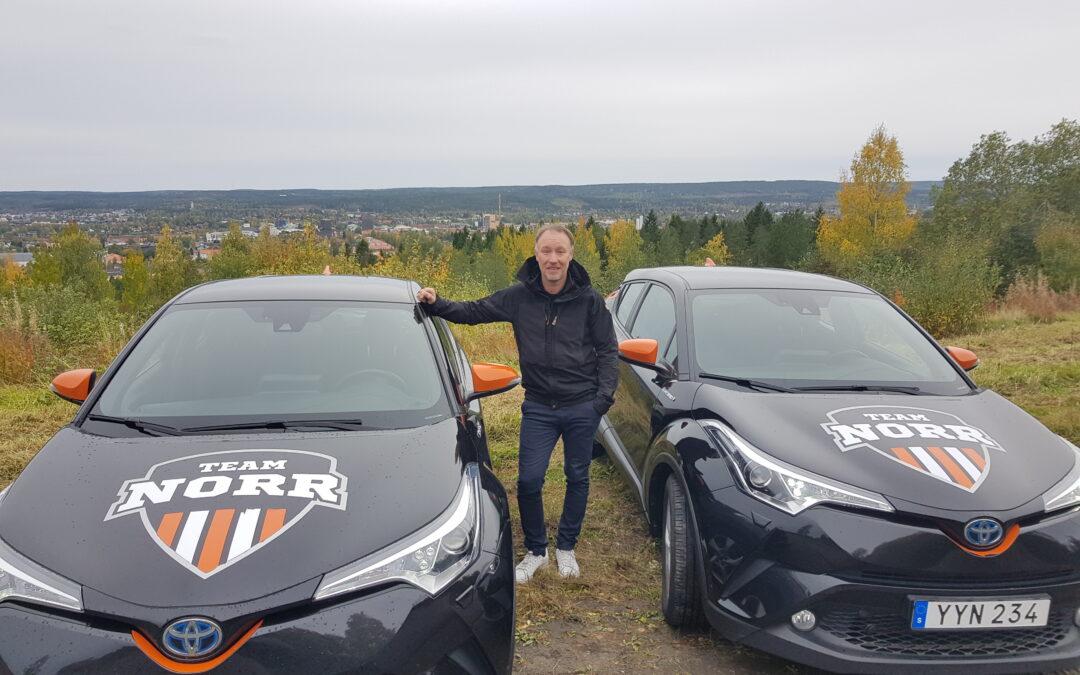 Intervju med Anders Eriksson, kundansvarig Skellefteå