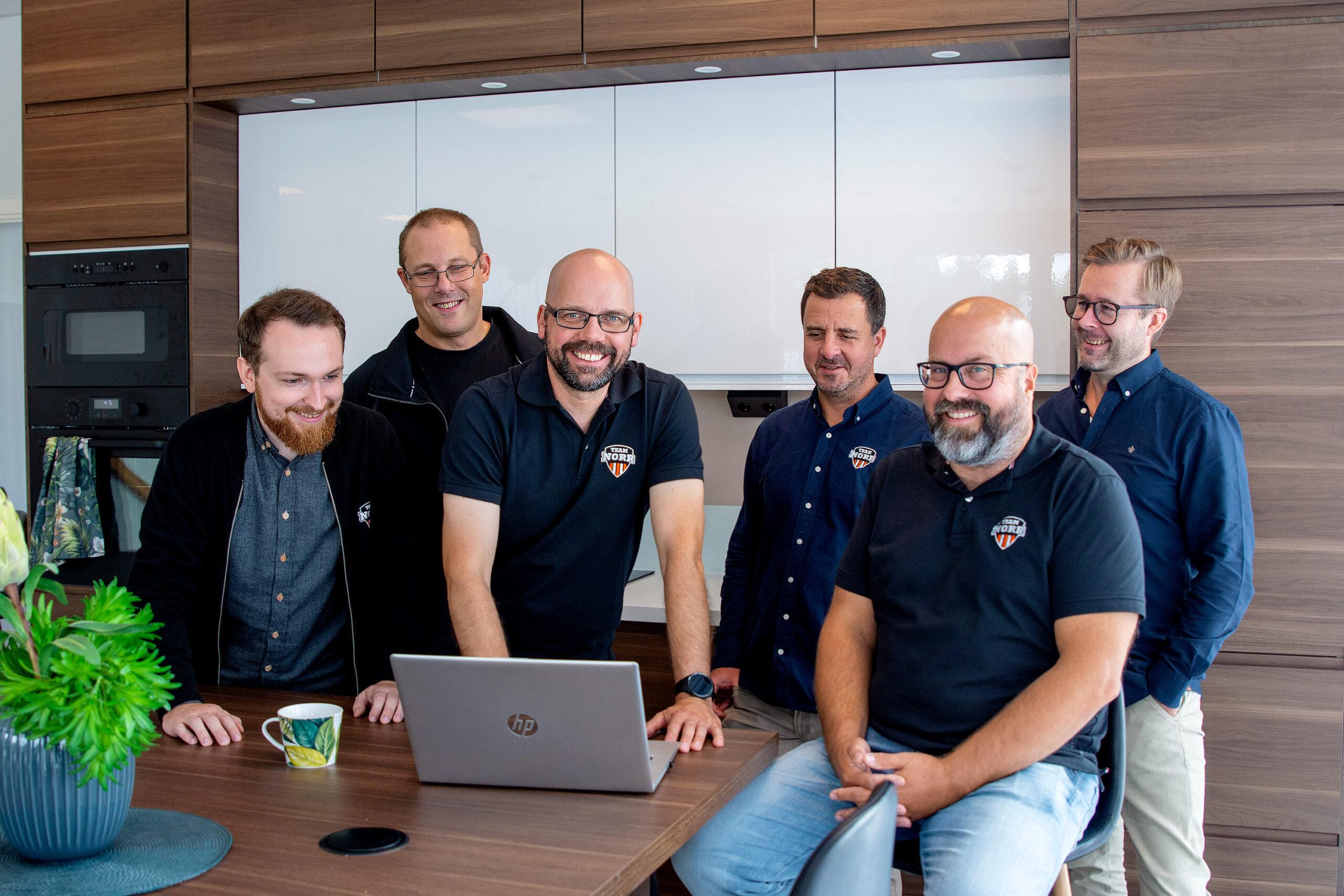 Edward Lantz, nytillträdd VD för TeamNorr IT-Partner AB